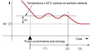 Auto-tuning PID - regulatory temperatury