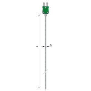 Płaszczowe czujniki temperatury PTTJ-BTWm, PTTK-BTWm, PTTN-BTWm -http://acse.pl
