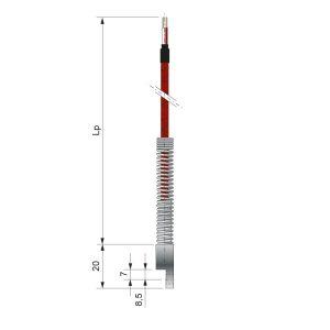 Czujniki temperatury TOPE-395, TTJE-395, TTKE-395