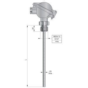 Czujniki temperatury TOPGB1, TTJGB1, TTKGB1- http://acse.pl