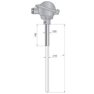 Czujniki temperatury TTKC2, TTSC2, TTRC2, TTBC2, http://acse.pl
