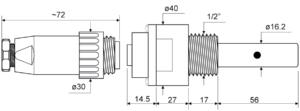 Sonda przewodności SPT400.001