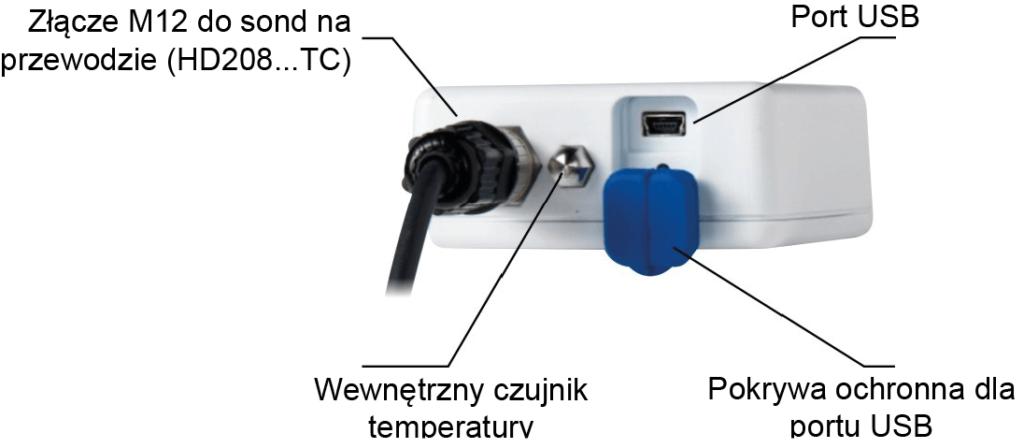 Rejestratory temperatury i wilgotności HD208 - Delta Ohm