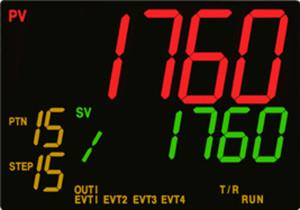 Regulator PCA1 - wyświetlacz LCD