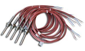 Kablowe czujniki temperatury Pt100. Pt500, Pt1000