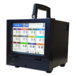 Graficzny rejestrator temperatury w obudowie stołowej