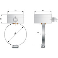 Czujnik temperatury TOPR-7