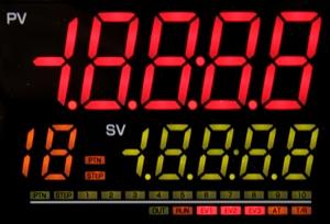 Regulator temperatury PCB1 - wyświetlacz
