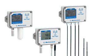Rejestratory bezprzewodowe temperatury i wilgotności