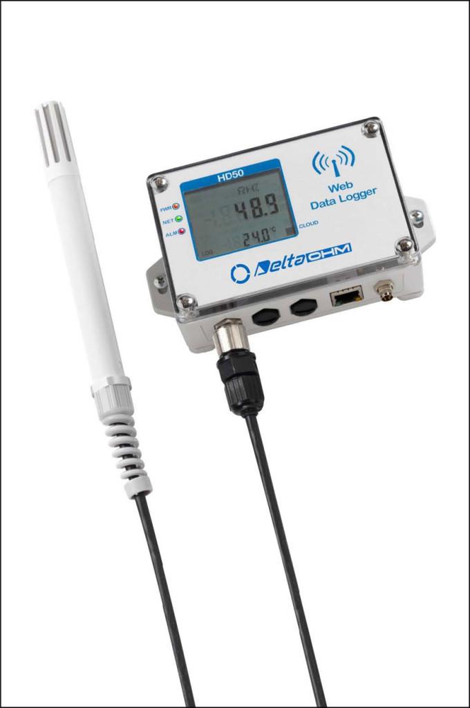 Rejestratory Wi-FiHD50 - wersja z sondami na przewodzie
