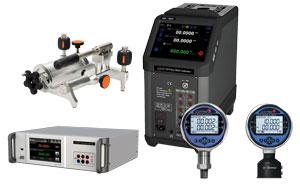 Manometry, kalibratory ciśnienia i temperatury