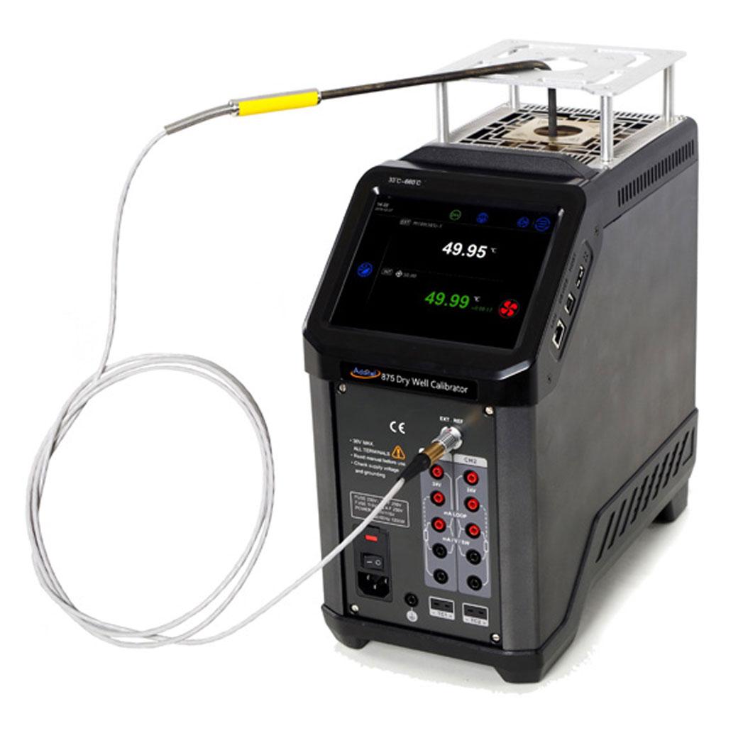 Bardzo dobra Piec do kalibracji czujników temperatury ADT875-155 - Czujniki GS82