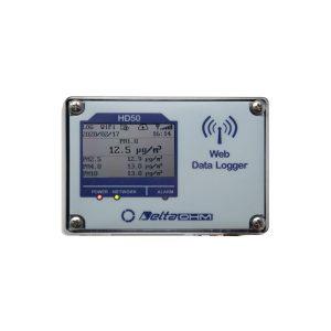 Rejestratory cząstek stałych (pyłu zawieszonego) HD50PM – pyłomierz