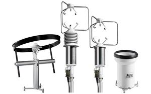 Przyrządy meteorologiczne, anemometry, pyranometry