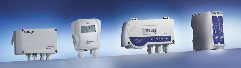 Przetworniki ciśnienia i różnicy ciśnień Halstrup-Walcher